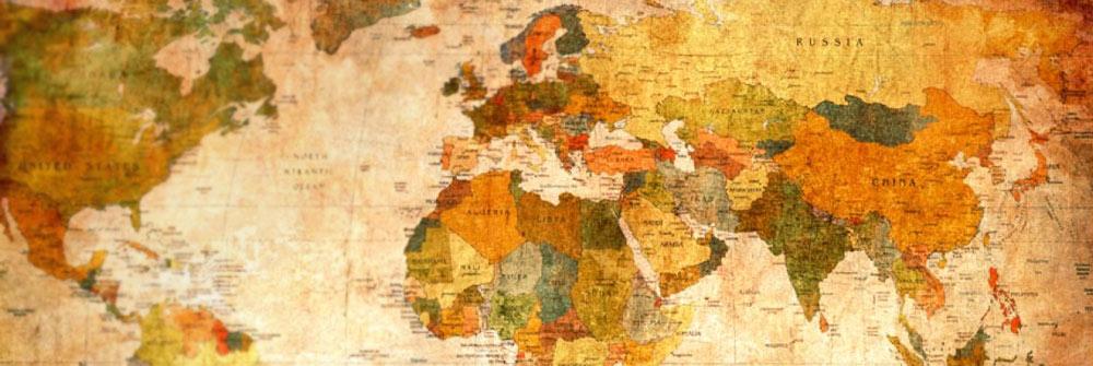 papier peint carte du monde d coration murale de grand. Black Bedroom Furniture Sets. Home Design Ideas
