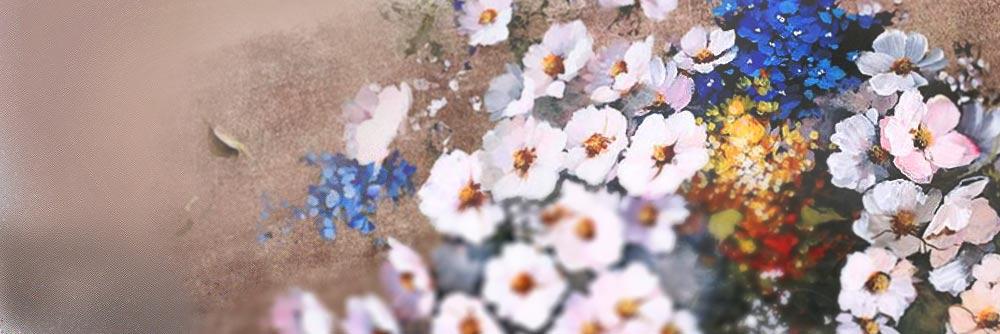 Cuadros De Flores La Coleccion De Lienzos Modernos Con Motivos Florales