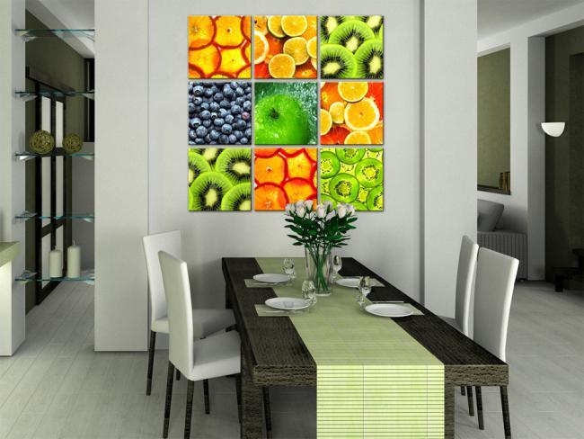 Wandbilder im esszimmer - Comedores bonitos y modernos ...