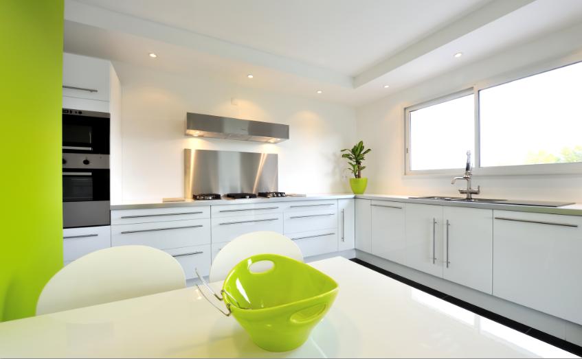 Decoración de la cocina - colores y accesorios de cocina