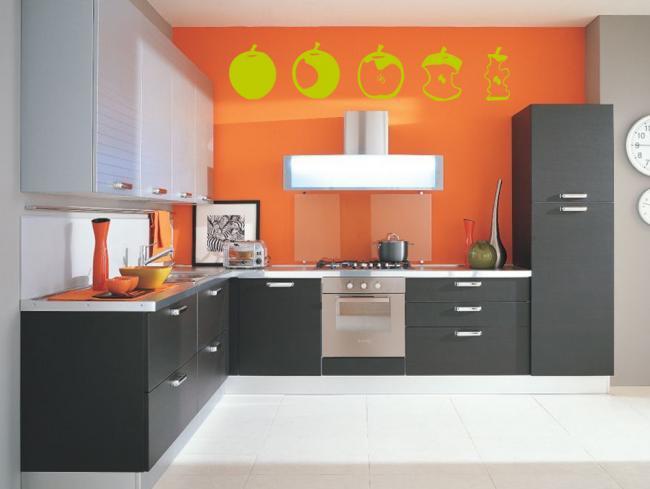Decoraci n de la cocina colores y accesorios de cocina for Accesorios decorativos para cocina