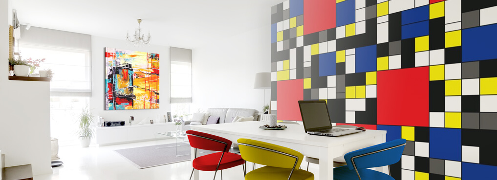 Cuadros fotomurales y vinilos de pared decoraciones for Bauhaus vinilos decorativos