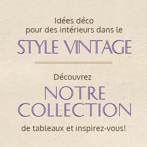 collection tableaux vintage