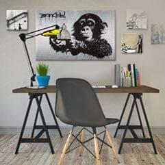 Street Art Canvas Prints