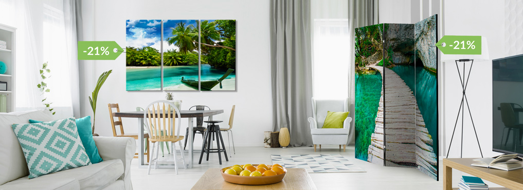 Sale on Canvas Prints and Room Dividers