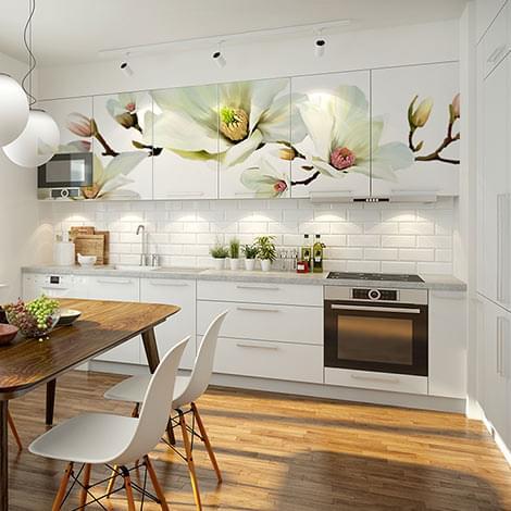 Cuadros fotomurales y vinilos de pared decoraciones originales para la pared bimago - Fotomurales cocina ...
