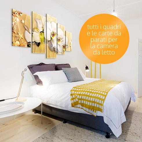Quadri per la camera da letto quadri stampe e cornici - Fiori in camera da letto ...
