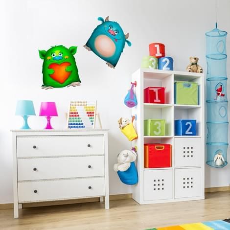 Adesivi per armadi bambini stunning disegno idea pitture - Adesivi per mobili bambini ...