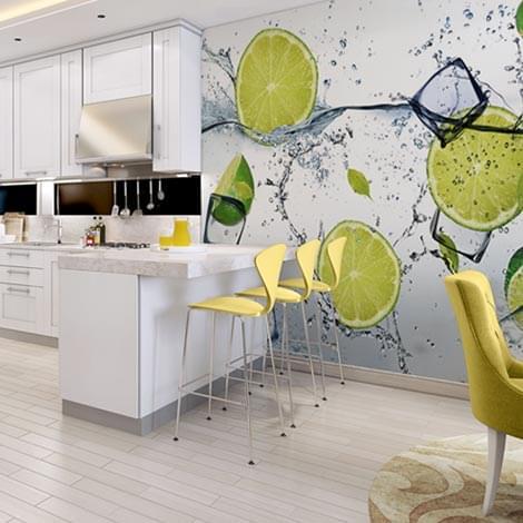 Cuadros fotomurales y vinilos de pared decoraciones for Fotomurales para cocinas