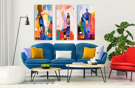 Estilo bauhaus decoraci n de interiores cuadros y for Bauhaus vinilos decorativos