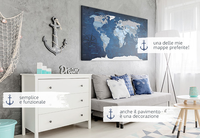 Stile marinaro vedi meravigliose case con arredamento - Maritime einrichtung ...