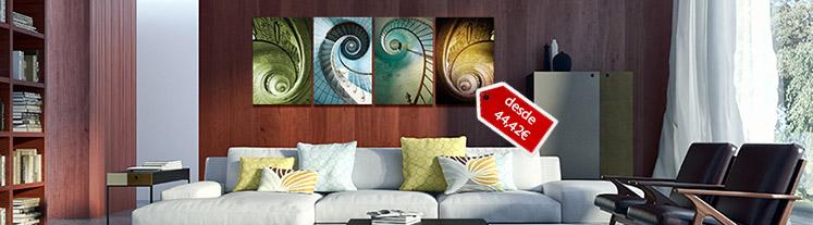 Cuadros fotomurales y vinilos de pared baratos ideas de for Fotomurales grandes y baratos