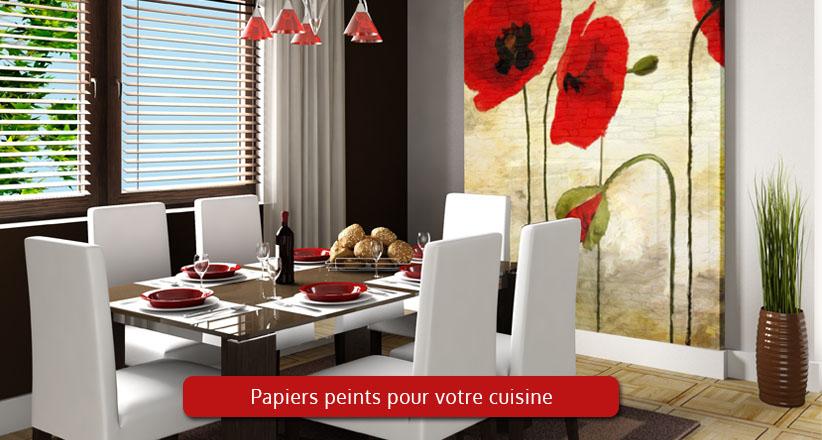 papier peint ou tableau pour cuisine d coration parfaite. Black Bedroom Furniture Sets. Home Design Ideas