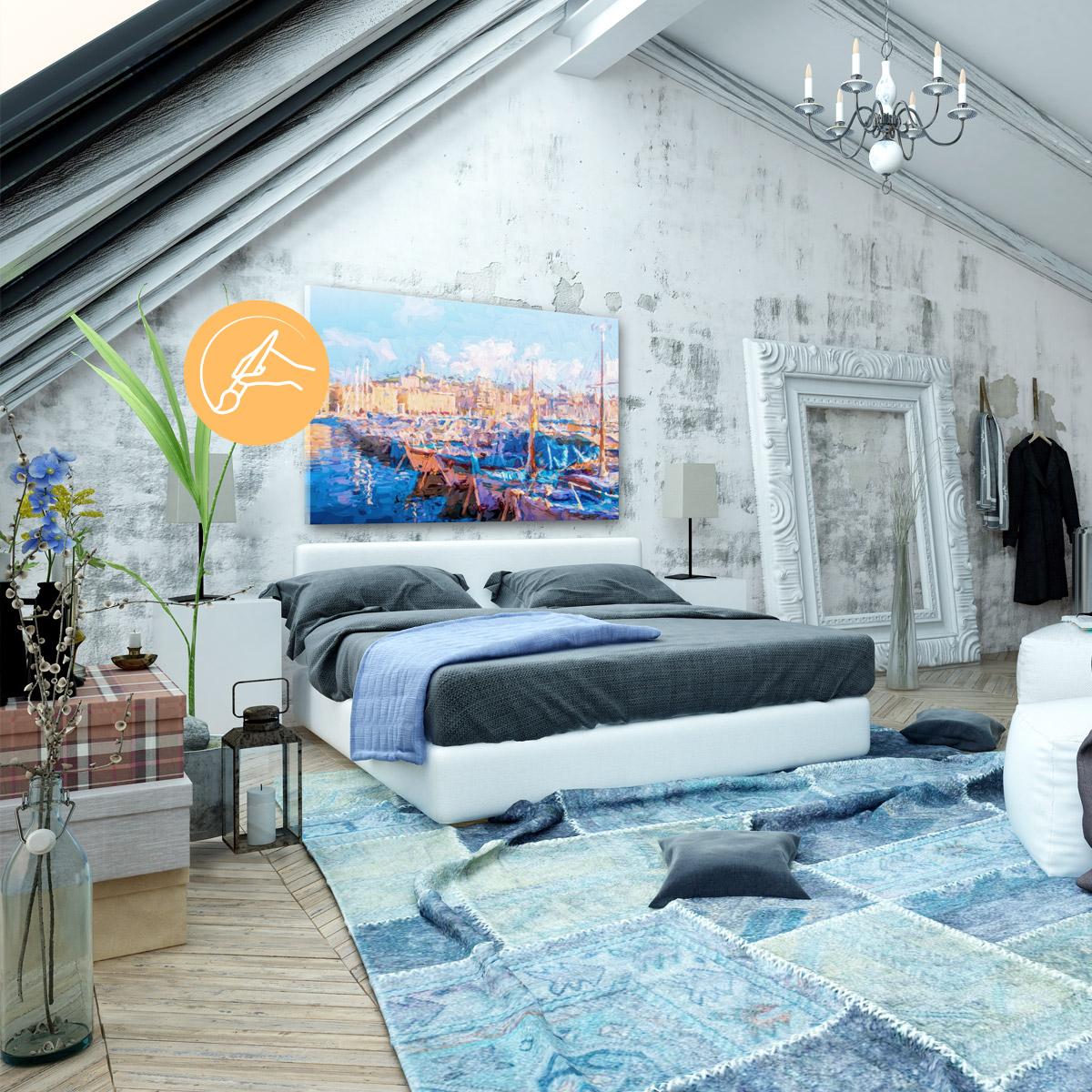 handgemalte bilder moderne gem lde online kaufen. Black Bedroom Furniture Sets. Home Design Ideas