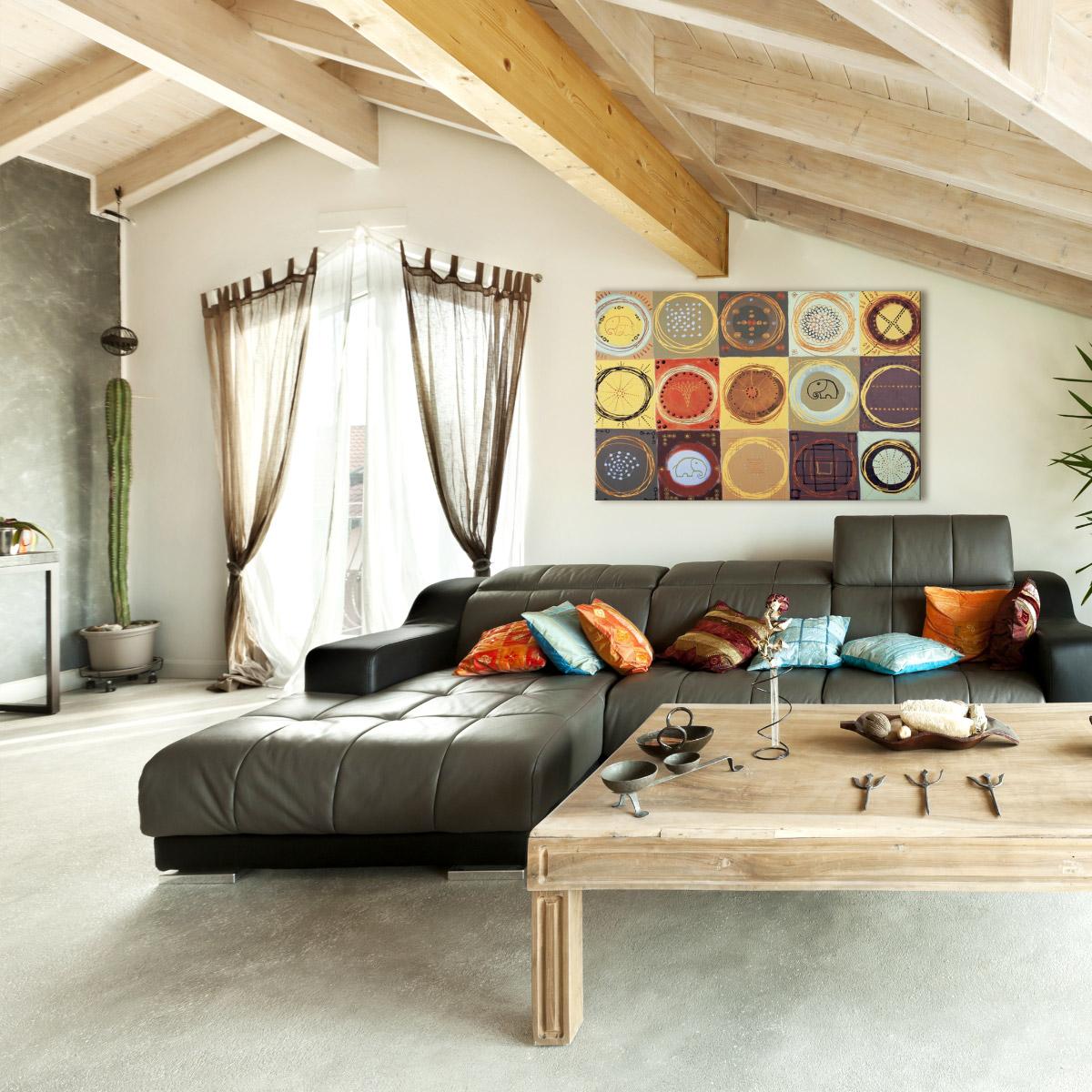 richten sie ihre wohnung mit afrika deko ein. Black Bedroom Furniture Sets. Home Design Ideas