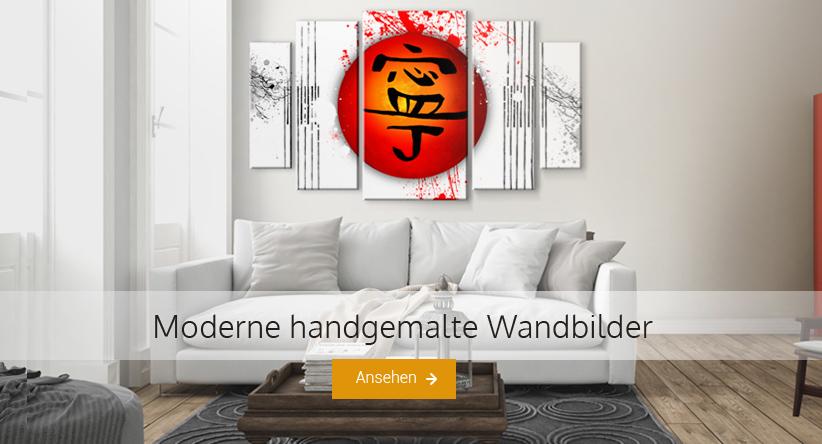 handgemalte wandbilder. Black Bedroom Furniture Sets. Home Design Ideas