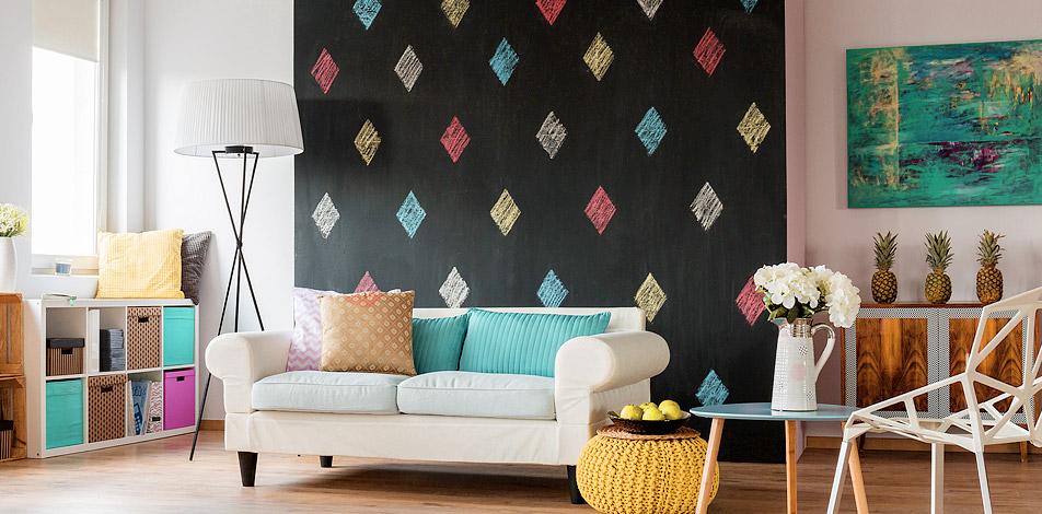 Wohnen im boho style wandbilder tapeten fototapeten for Kissen orientalischen stil