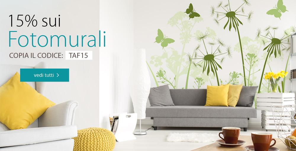 Decorazioni pareti quadri carta da parati adesivi for Decorazioni quadri