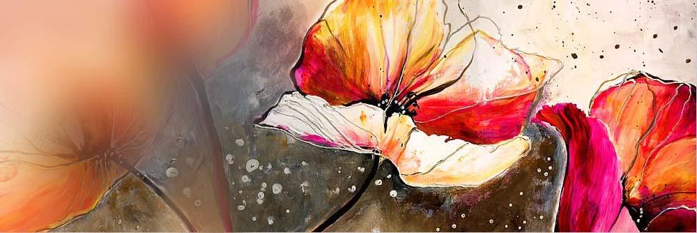 Dipinti di fiori - fai sbocciare le tue pareti con quadri moderni ...