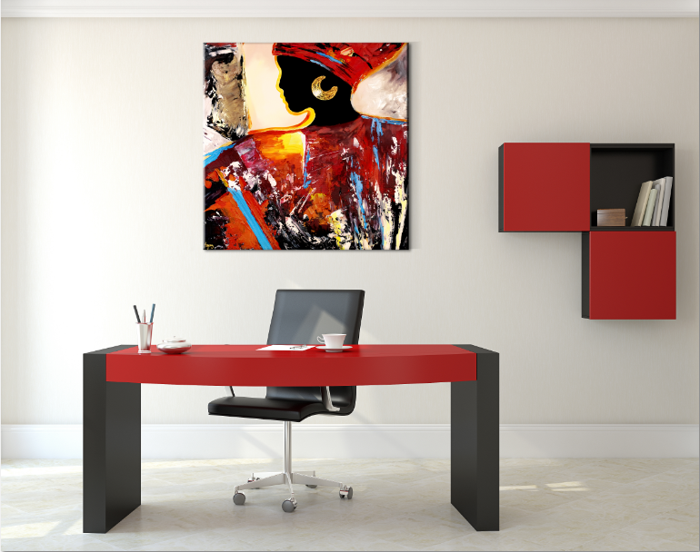 Tableaux au bureau - Peinture pour bureau ...