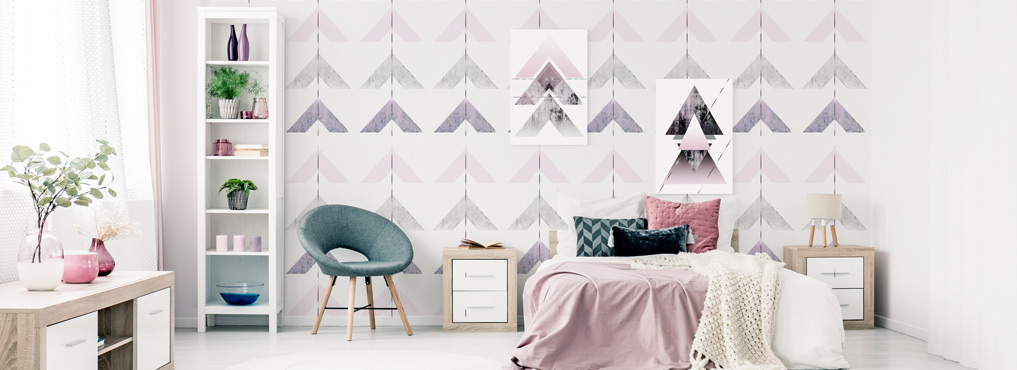 Wandbilder fototapeten wandtattoos ihre originelle bimago wanddekoration - Geometrische wandbilder ...