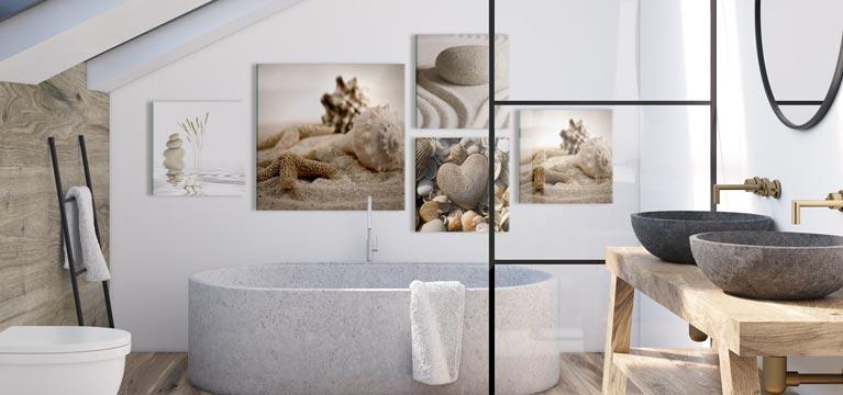 Badezimmer Deko Fur Ihre Wand Moderne Wanddekorationen Bimago