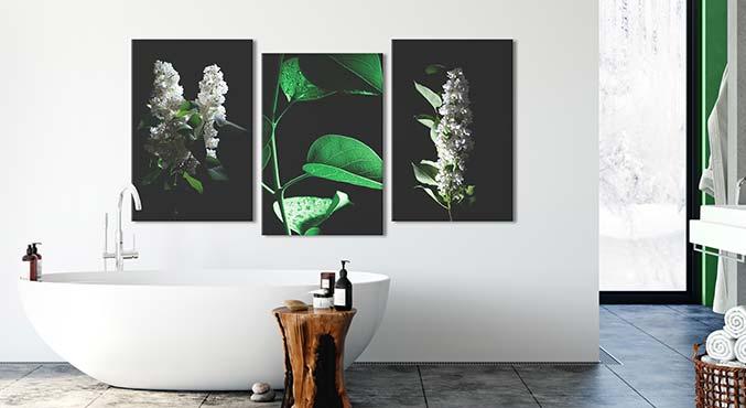 Décorations pour la salle de bain, déco murale moderne | bimago