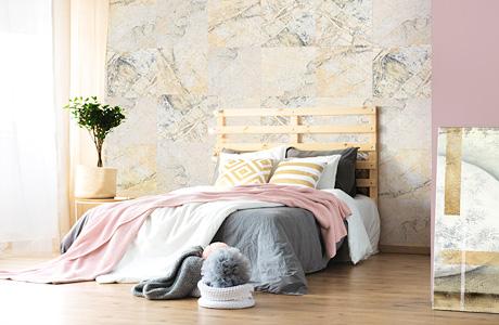tapete steinoptik wei und paravent wei ihre hochwertige deko. Black Bedroom Furniture Sets. Home Design Ideas