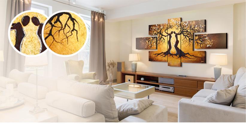 Wandbilder XXL - schöne Deko-Ideen für jeden Geschmack
