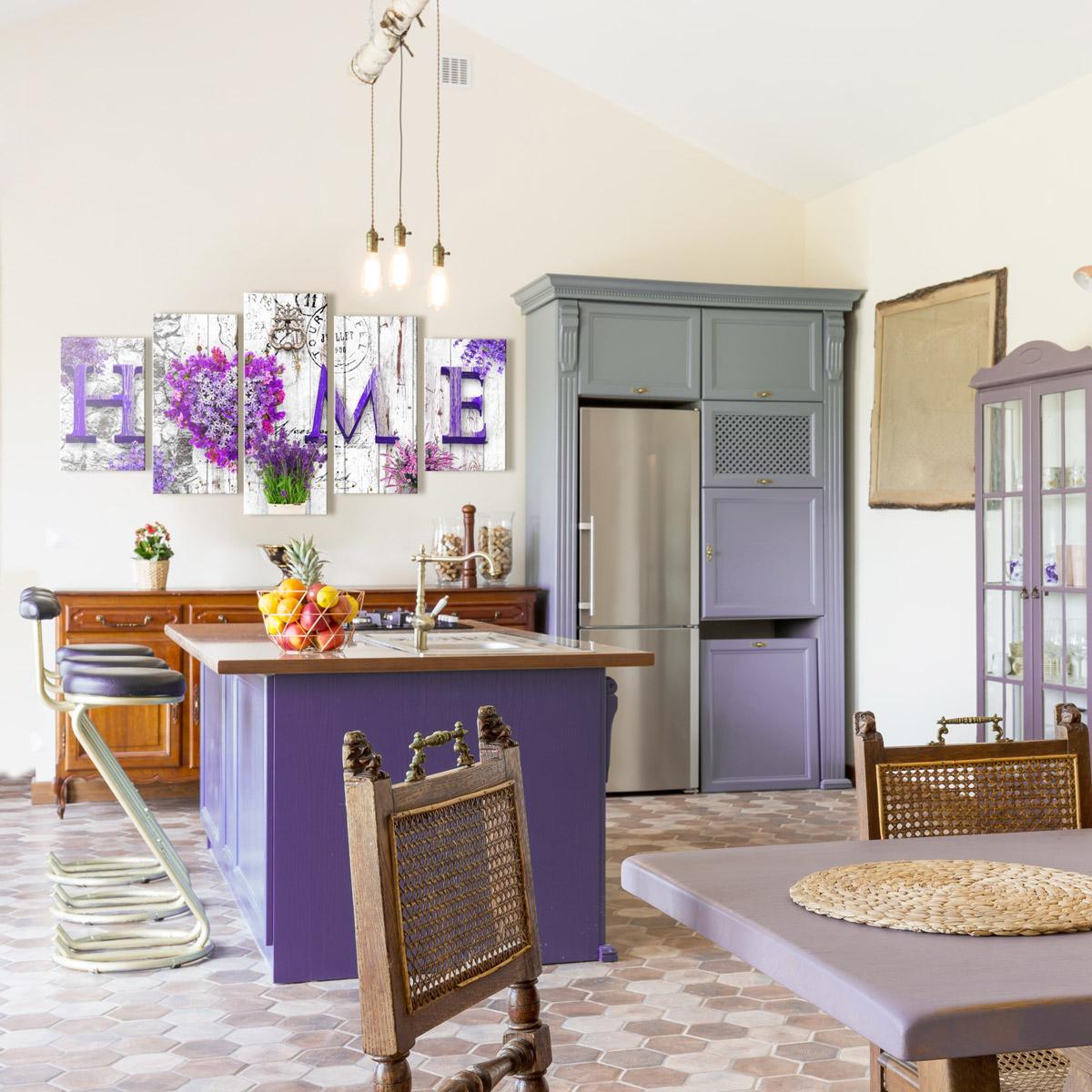 Chambre Provencale Idee Deco papiers peints dans le style provençal et autres décorations