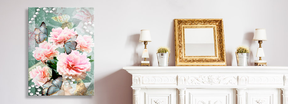 style shabbychic - tableaux